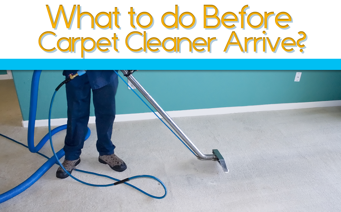 What to do Before Carpet Cleaner Arrive